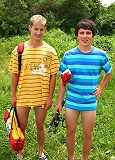 Twosome Boys gay camping adventures